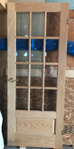 FRENCH DOOR-Solid Oak