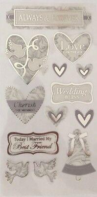 Wedding Scrapbook Stickers