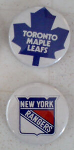 NHL Button Pins