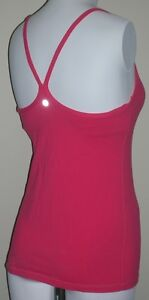 Lululemon Red Top with Inserted Bra Padding