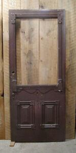door - antique door for sale EXD D dustyrose OXblood