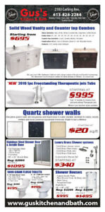 Gus's Kitchen and Bath March Sales