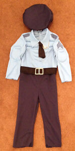 Police Officer Costume - size 2-4