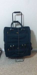 4 Piece Luggage Set & Portable Luggage Carrier