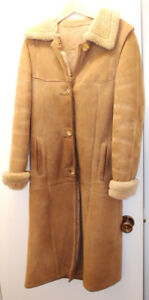 Sheep Skin Coat Woman's Full length size 9/10