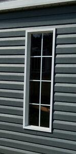 2 fenêtres de cabanon
