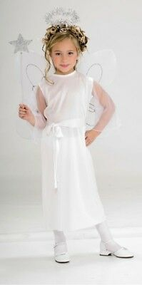White Angel CHILD Costume NEW Christmas