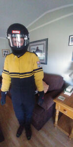 Racing suit ( gloves, shoes also)
