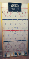 For Rent:Hockey Themed Plinko Board