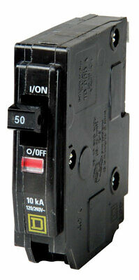Square D Qo 50 Amps Plug In Single Pole Circuit Breaker