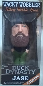 "Funko Duck Dynasty Wacky Wobbler Talking Bobble Head ""Jase"""