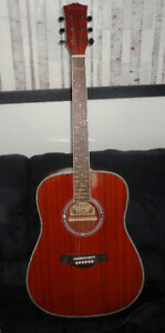 FOR SALE MANSFIELD ACOUSTIC GUITAR-PRICE DROPED
