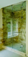Glass Shower, Mirrors, Railings, Tabletops