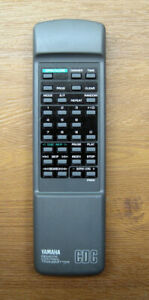 Yamaha Remote Control for CDC-635 Multi CD Player