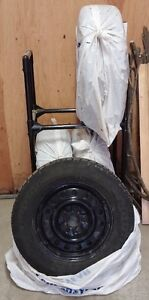 P225/60R16 Goodyear Nordic Snow Tires with Steel Rims London Ontario image 4