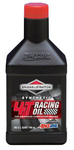 Briggs & Stratton Synthetic 4T Racing Oil - AMSOIL