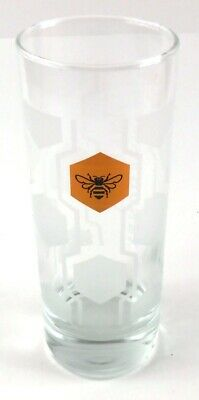 Jack Daniels Tennessee Honey Tall Hi-Ball Glass Honeybee Bee Whiskey for sale  Shipping to Canada