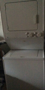 Stackable Maytag washer/GAS dryer