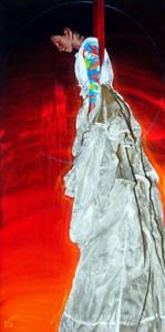 ***Dernière chanceTableau Gaudet  peinture acrylique toile