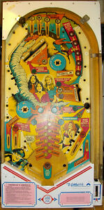 CHARLIES ANGELS - PINBALL PLAYFIELD
