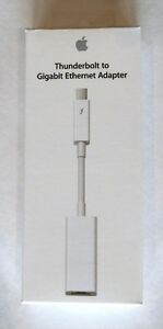 Apple - Thunderbolt to Ethernet/Thunderbolt to Firewire/MagSafe
