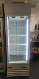 Capital commercial display freezer with LED lights fully working