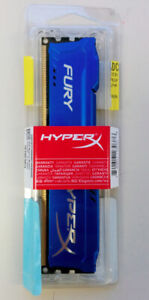 New and Sealed Kingston HyperX Fury 4GB DDR3-1600 CL 10 240-pin