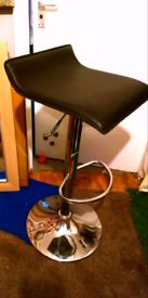 2 x adjustable height. breakfast bar stools