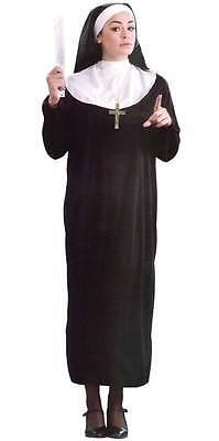 HEN/POLTERABEND,UNISEX KOSTÜM,NONNE/GEWOHNHEIT,RELIGION,EXTRA GROß - Gewohnheit Kostüm