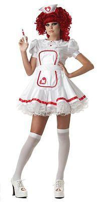 Got Fever Teen Nurse Complete Costume Junior (3-5) - Got Halloween Costumes