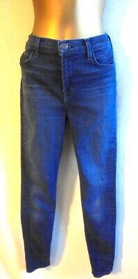 J Brand  27 Maria supreme Jeans blue denim high rise skinny leg (B775