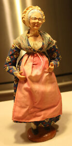 Signed Vintage French Clay Santon Doll
