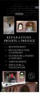 Briqueteur-Maçon 10 ans d'expérience