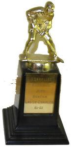Ancien Trophé d'Hockey / Vintage Hockey Trophy