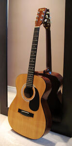 6-String OM Thin-Body Acoustic Guitar - Excellent Condition