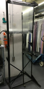 Dry Cleaner Rack/ Dress or Suit bagging rack