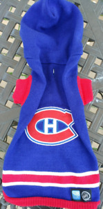 NHL MONTREAL CANADIENS DOG SWEATER