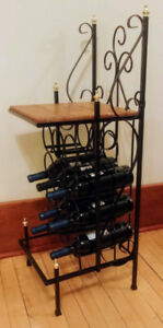 Wine rack - very good condition.  **Pick up in Eastend**