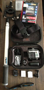 Gopro Black hero3+ with lots of extras $500 OBO