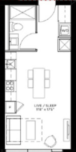 Bachelor/Studio - Financial District (Peter/Adelaide St W)