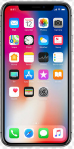iPhone X 256gb silver new/neuf scealed Unlocked/Deverouillé
