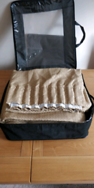 2 Sets Lined Curtains Brand New Dunelm size 66 X 54 ( 166 cm X 138 cm