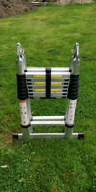 Ladders 16 foot telescopic good condition.
