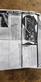 Harley Davidson exhaust system