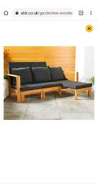 Wooden Garden furniture Day Bed
