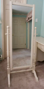 French Provincial Armoire Mirror