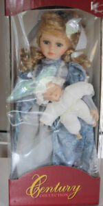 Porcelain Doll Century Collection Fine Bisque by Artisan R. Rose