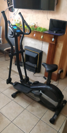 Roger Black Gold 2 in 1 Cross Trainer & Exercise Bike