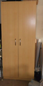 Large 2 door Wardrobe/ Pantry Storage Cabinet