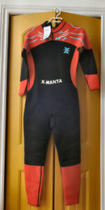 Ladies full length wetsuit